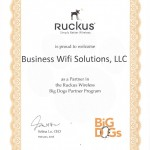 Ruckus Wireless Partner Reseller distributor - Business Wifi Solutions LLC